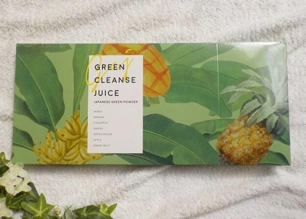 次世代青汁「グリーンクレンズジュース」Green Cleanse Juiceの外箱