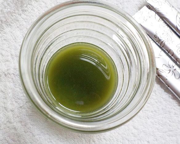 次世代青汁「グリーンクレンズジュース」Green Cleanse Juiceの水割り