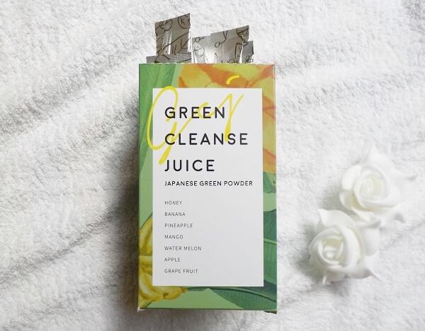 次世代青汁「グリーンクレンズジュース」Green Cleanse Juice箱を組み立てたところ