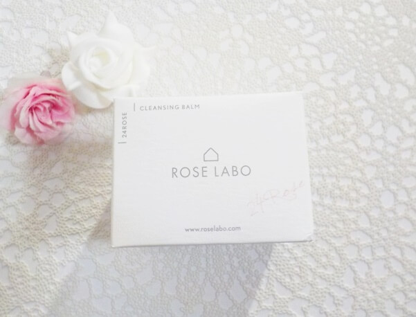 ROSE RABO ローズラボ「ナチュラルオフバームR」の箱