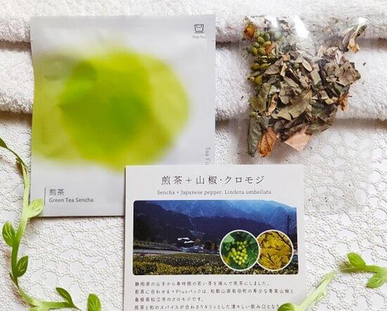 ティーフート「Drip Tea 煎茶 + Plus 山椒・クロモジ」