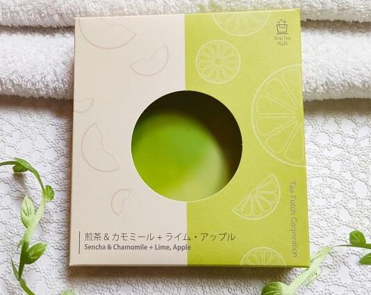 ティーフートDrip Tea 煎茶&カモミール + Plus ライム・アップル