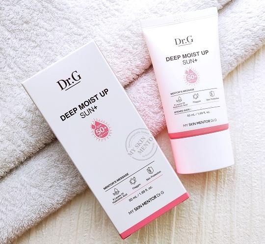 韓国で人気の日焼け止めDr.G『Deep Moist Up Sun+』『ディープモイストアップサンプラス』の口コミ
